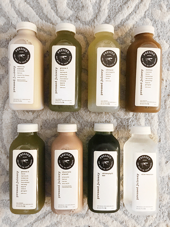 My review 1 day juice cleanse from pressed juicery girls who brunch i had the spontaneous and brilliant idea to do a 1 day juice cleanse we walked into pressed juicery and i was able to malvernweather Choice Image
